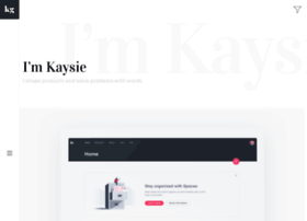 kaysiegarza.com