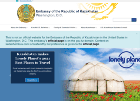 kazakhembus.com