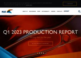 kazminerals.com