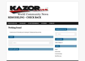 kazor.com
