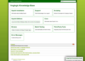 kb.froglogic.com