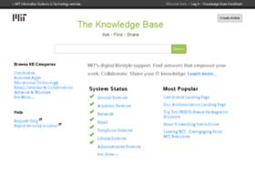 kb.mit.edu