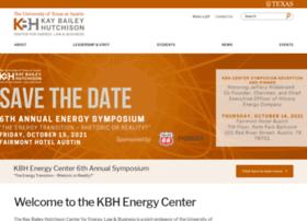 kbhenergycenter.utexas.edu