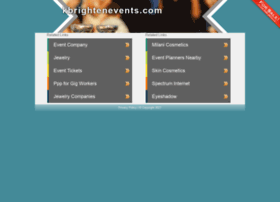 kbrightenevents.com