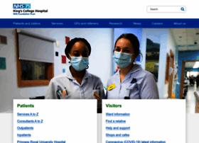 kch.nhs.uk info. King's College Hospital NHS Foundation Trust