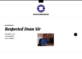 kcnitconfession.wordpress.com