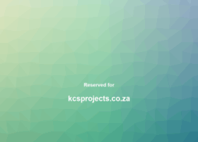kcsprojects.co.za