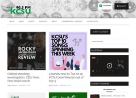 kcsufm.com