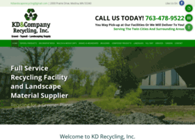 kdcorecycling.com