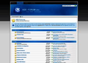 kde-forum.org