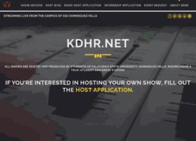 kdhr.net