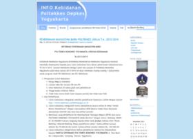 kebidananpoltekkesyk.wordpress.com