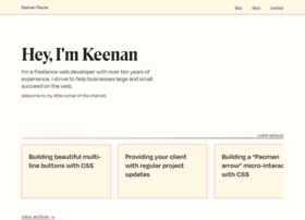 keenanpayne.com