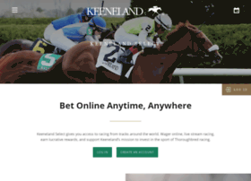 keenelandselect.com
