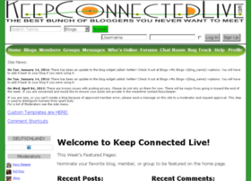 keepconnectedlive.com
