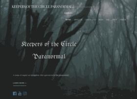 keepersofthecircleparanormal.com