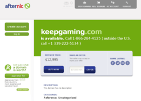 keepgaming.com