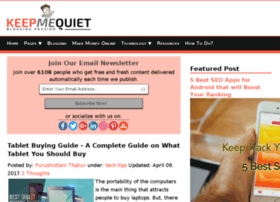 keepmequiet.com