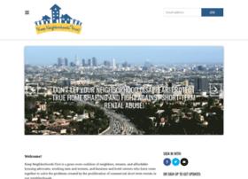 keepneighborhoodsfirst.nationbuilder.com