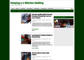 Keepnuinstitchesquilting.com