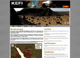Kefi-minerals.com