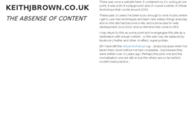 keithjbrown.co.uk