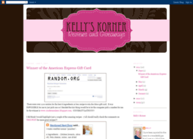 kellyskornerreviews.blogspot.com
