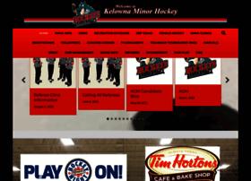 kelownaminorhockey.com