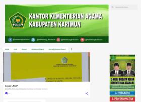kemenagkarimun.blogspot.com