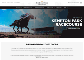 kempton.thejockeyclub.co.uk