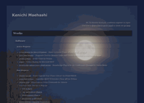 kenichimaehashi.com