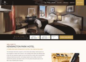 kensingtonparkhotel.com