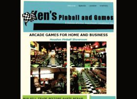 kenspinballandgames.com