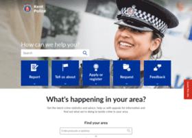 kent.police.uk