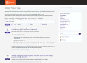 kentico.uservoice.com