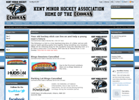 kentminorhockey.com