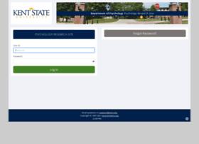 kentstate.sona-systems.com