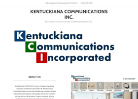 kentuckianacommunications.com