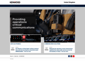 kenwood-electronics.co.uk