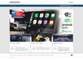 kenwood-electronics.fr