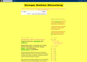kenya-online-directory.blogspot.com