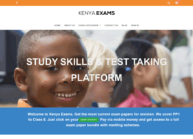 kenyaexams.co.ke