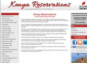 kenyareservations.com