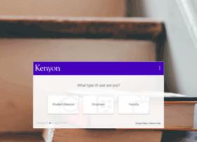 kenyon-csm.symplicity.com