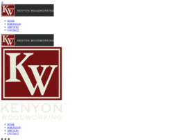 kenyonwoodworking.com