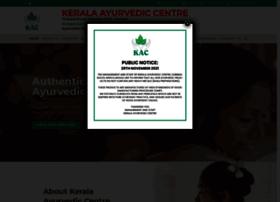 keralaayurvediccentre.com