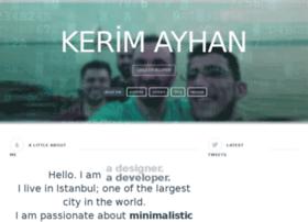 kerimayhan.com.tr