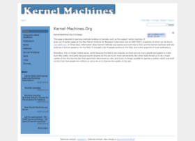 kernel-machines.org
