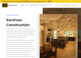 kershawconstruction.com