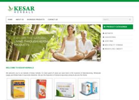 kesarherbals.com